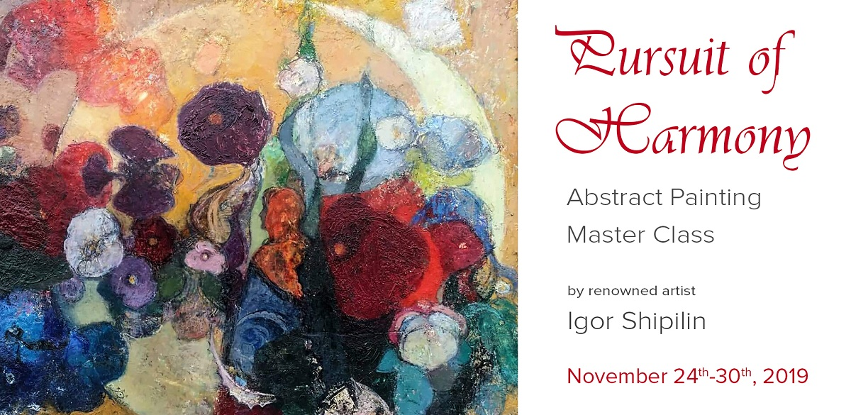 Abstract Painting Classes With Artist Igor Shipilin